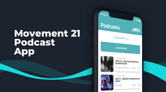 Movement 21 Podcast App